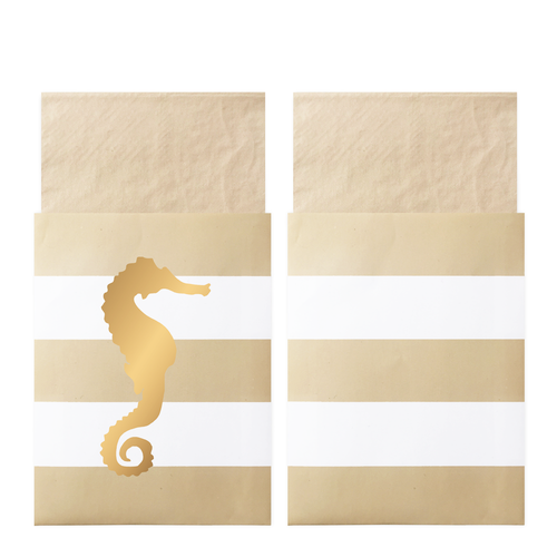 Delight Department - Seahorse Napkins In Bags