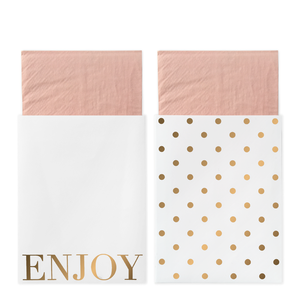 Delight Department - Pink Napkins In Bags