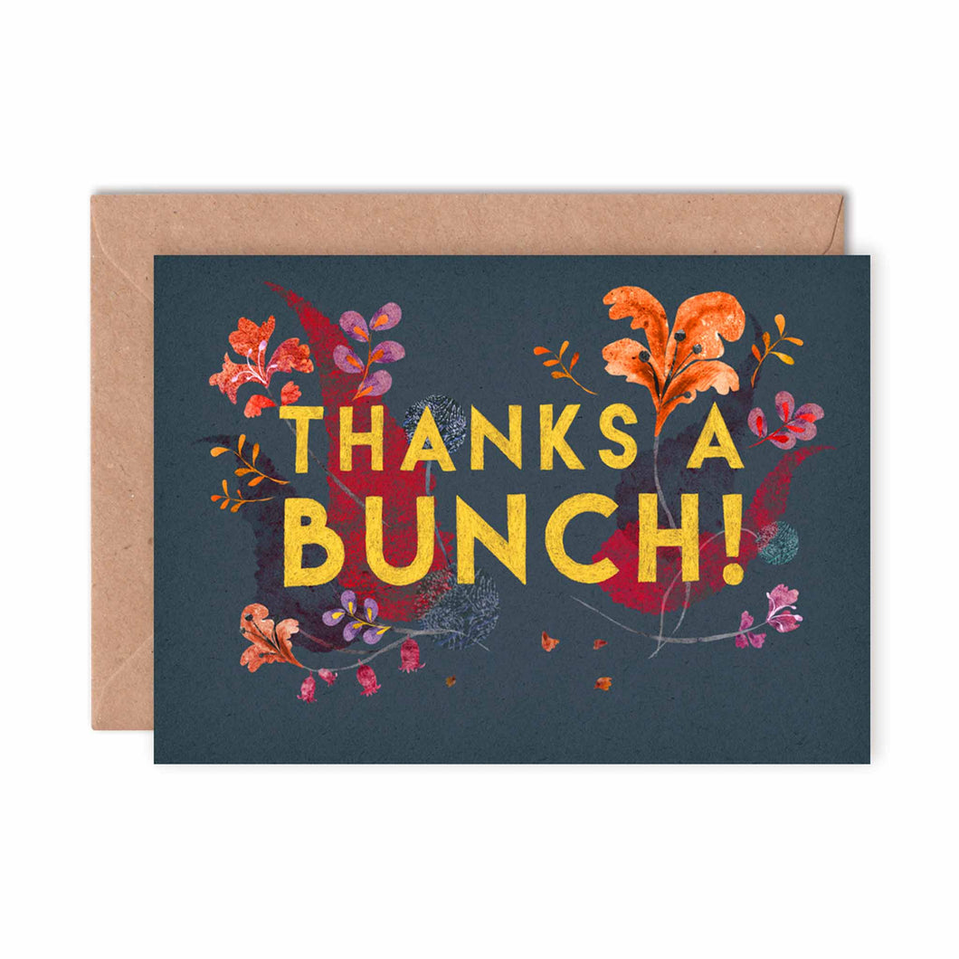 Emily Nash Illustration - Thanks a Bunch Card