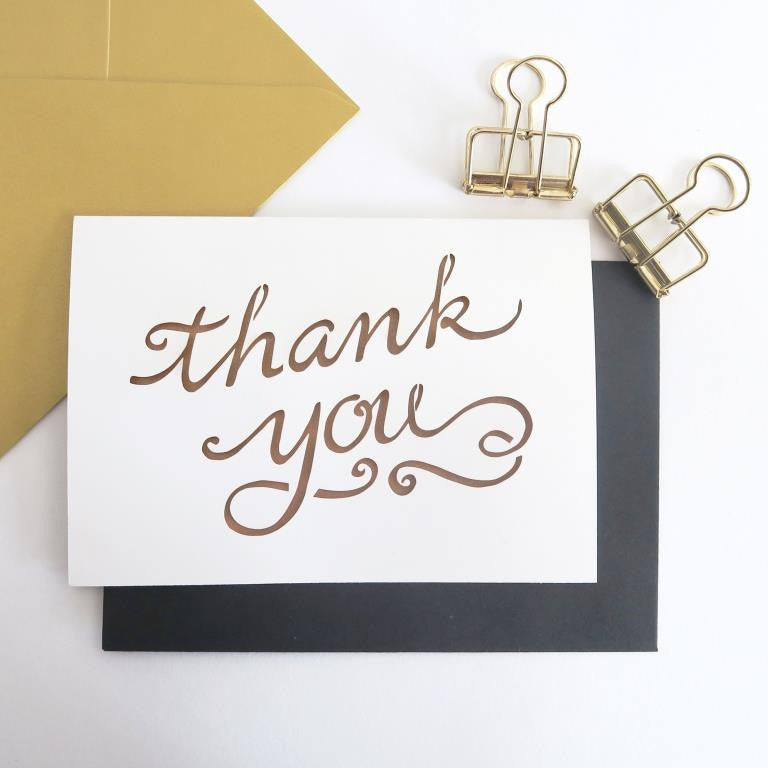 Chau Art - Thank you card