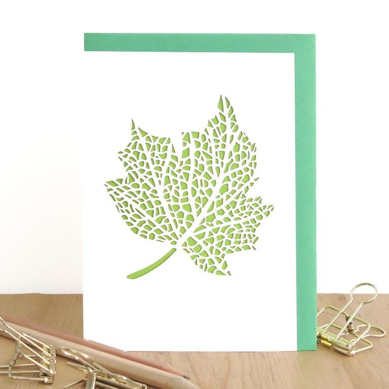 Chau Art - Leaf note card