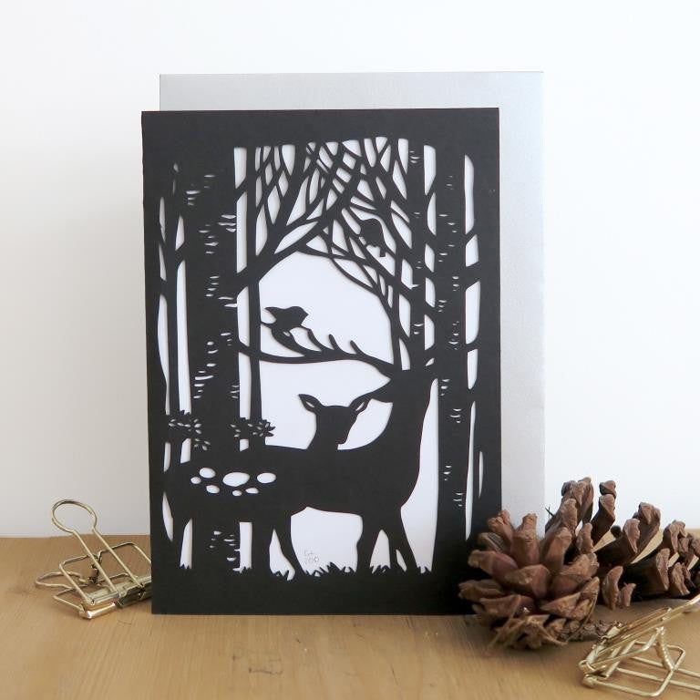 Chau Art - Into the woods card