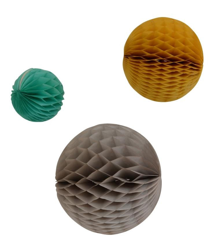 Engel - Honeycomb retro set of 3