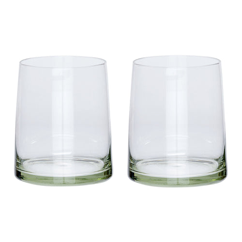 Hubsch - Pair of trapezoid tumblers
