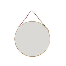 Kiko Round Mirror - Antique Brass - Large