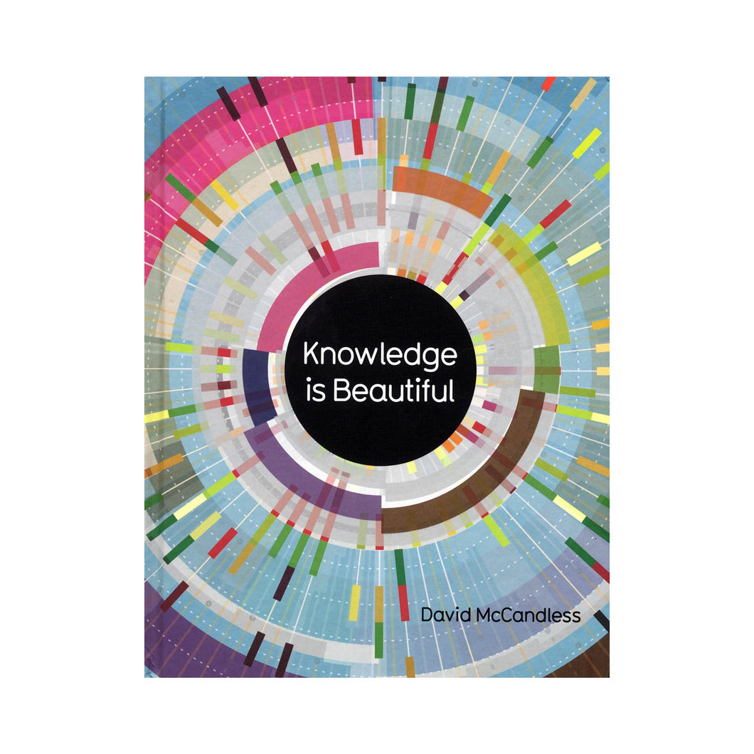 Knowledge is Beautiful David McCandless book