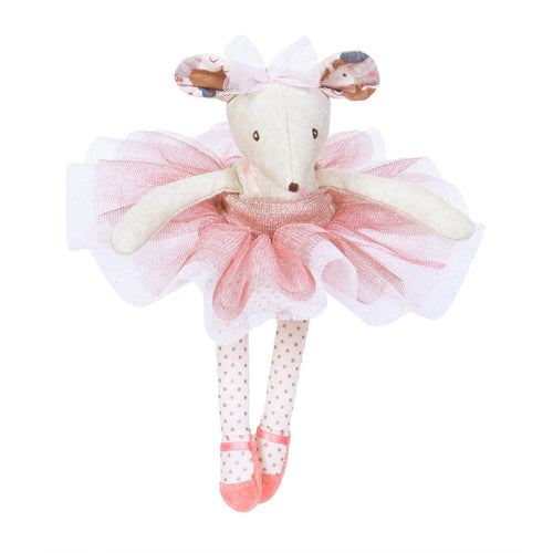 Lala the ballerina mouse pink tutu