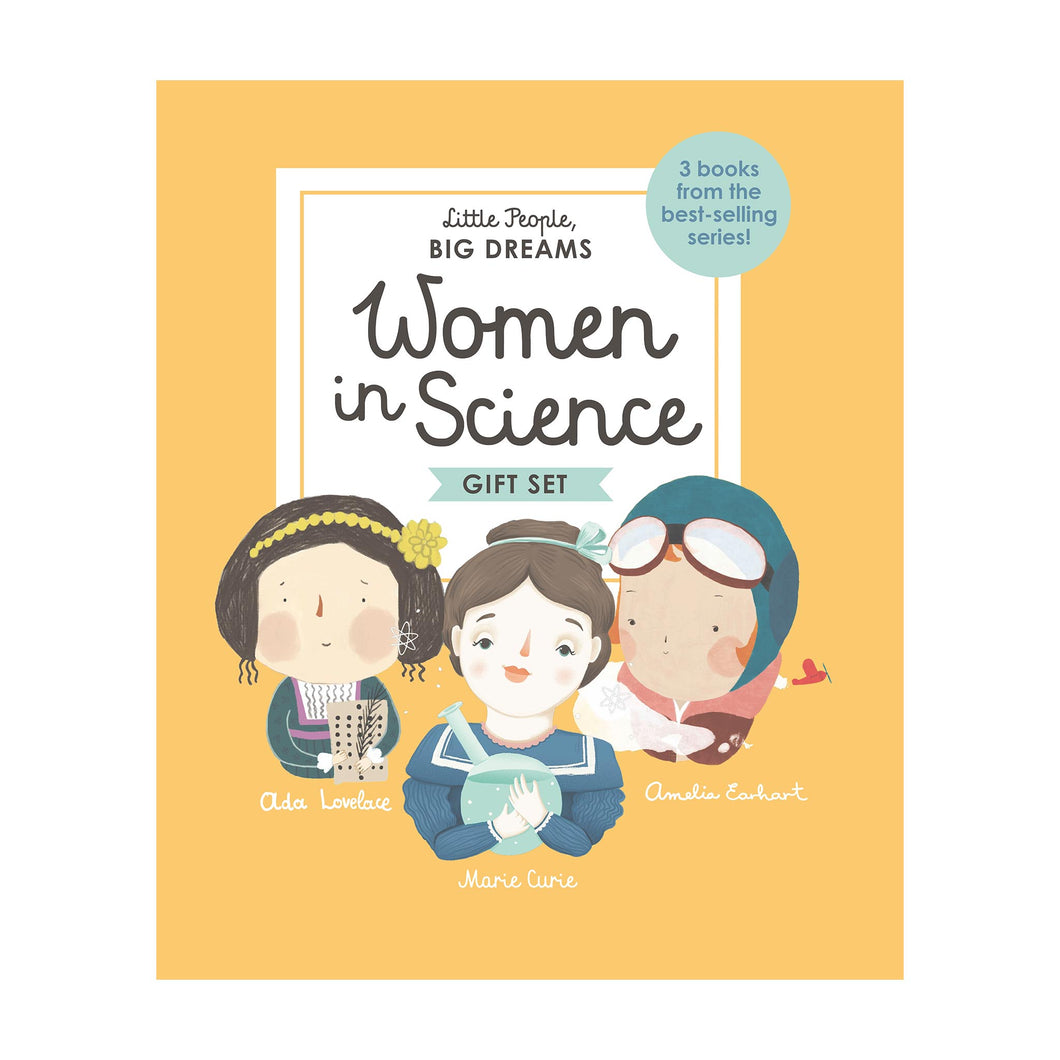 Bookspeed - Little People Big Dreams: Women in Science Box Set