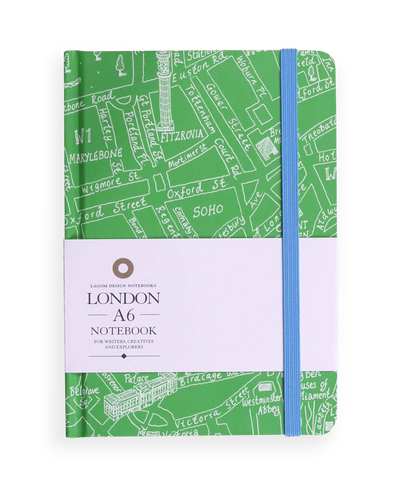 Michael A Hill - London Map Notebook