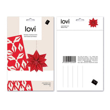 Lovi - Star - Dark Red