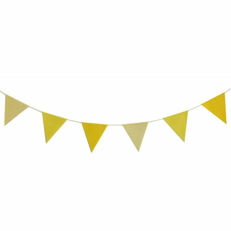 My Little Day - Yellow Bunting 3m - 12 flags