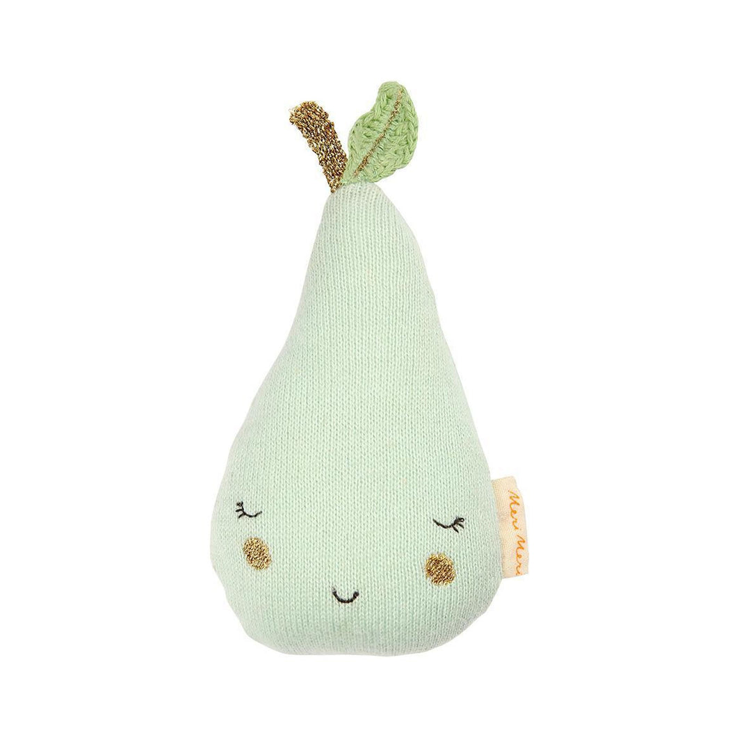 Meri Meri - Knitted Pear Rattle