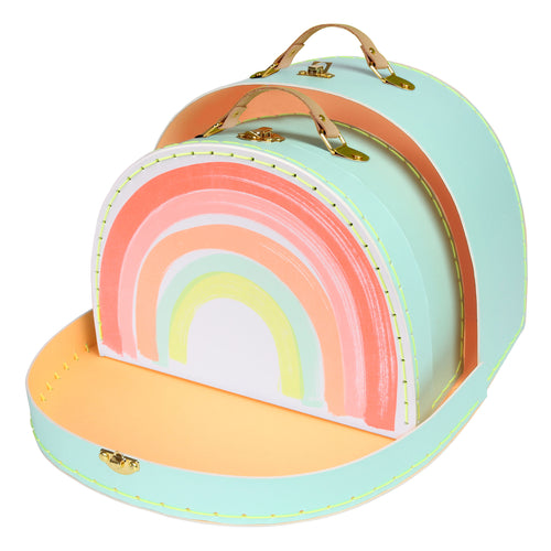 Meri Meri - Rainbow Suitcase - set of 2
