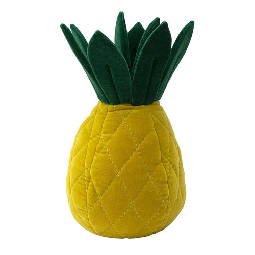 Meri Meri - Pineapple Velvet Cushion