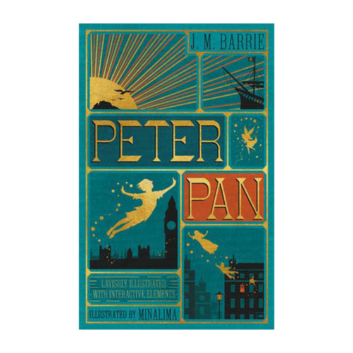 Minalima Peter Pan by J M Barrie Book
