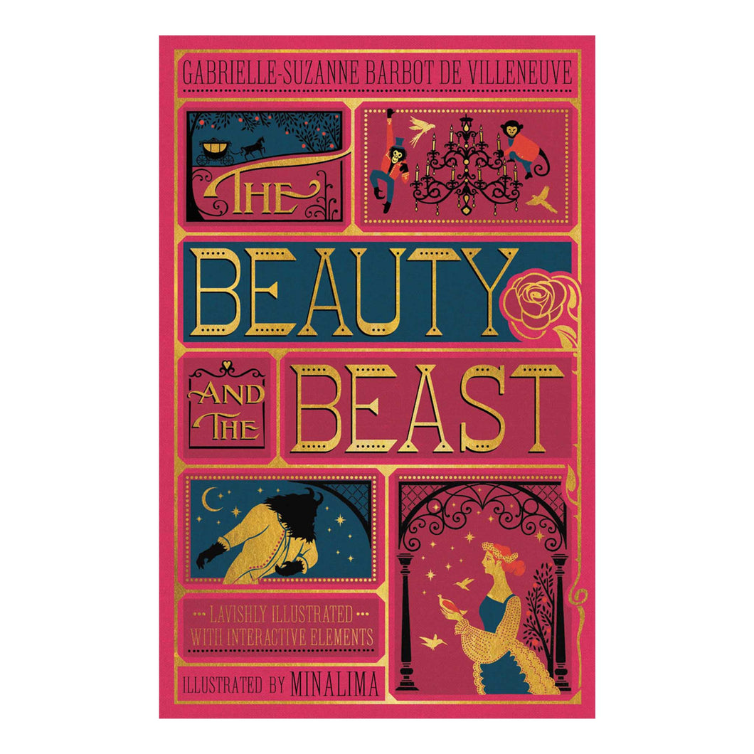 Minalima The Beauty and the Beast by Gabrielle Suanne Barbot de Villeneuve book