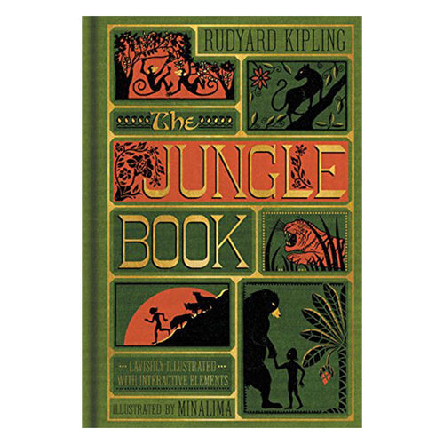 Minalima The Jungle Book by Rudyard Kipling Book