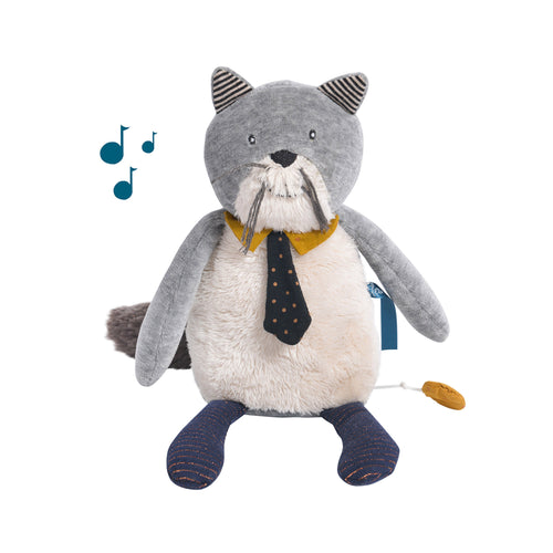 Moulin Roty - Les Moustaches - Musical cat