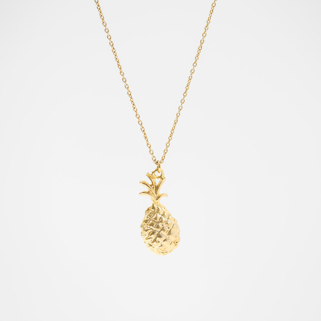 One & Eight - Gold Pineapple Necklace