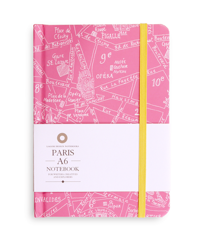 Michael A Hill - Paris Map Notebook
