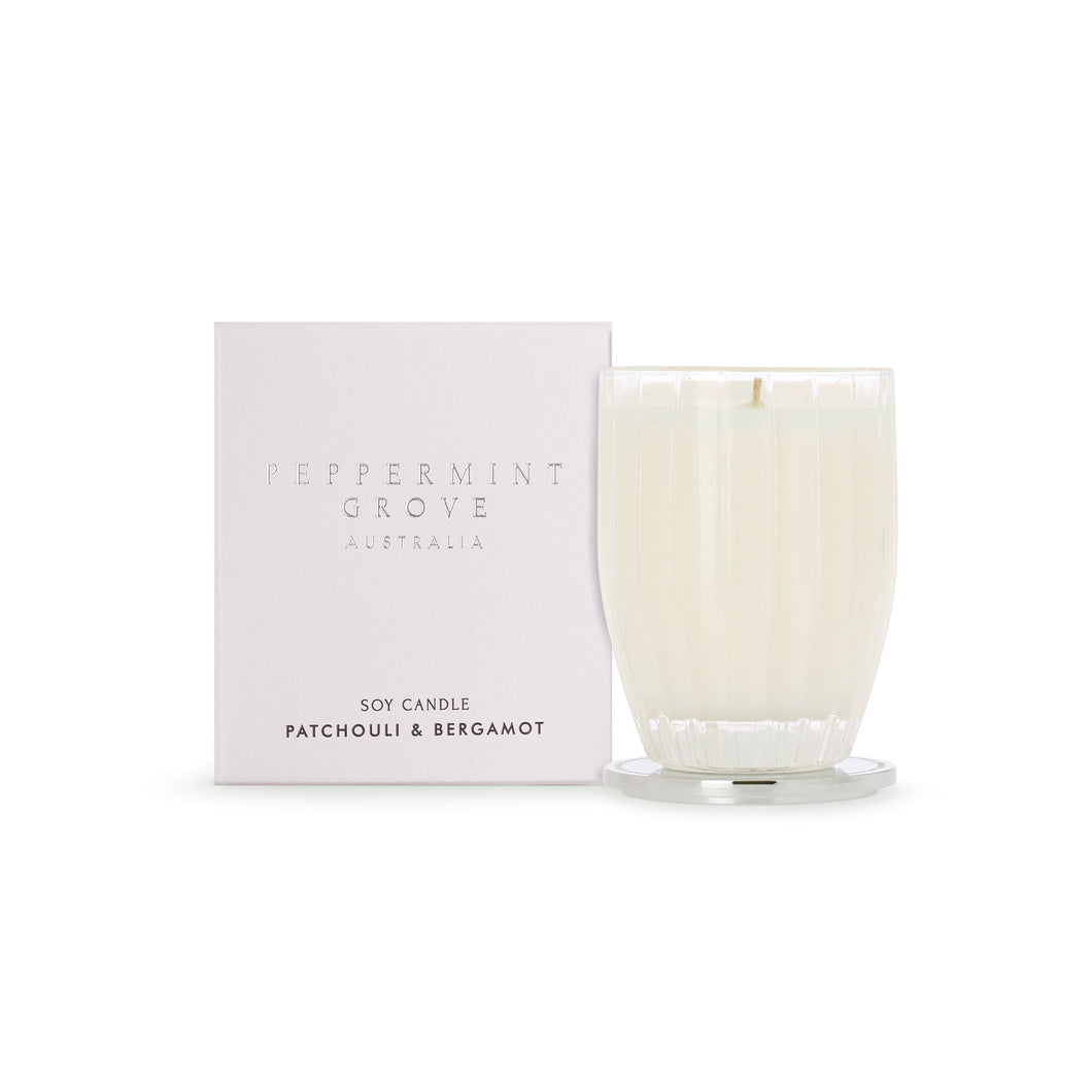 Peppermint Grove - Patchouli & Bergamot - 200g Candle