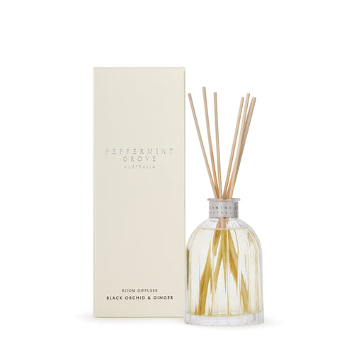 Peppermint Grove - Black Orchid & Ginger - Diffuser 200ml