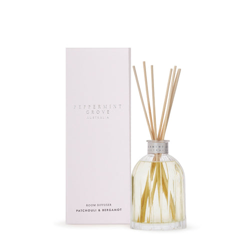 Peppermint Grove - Patchouli & Bergamot - Diffuser 200ml