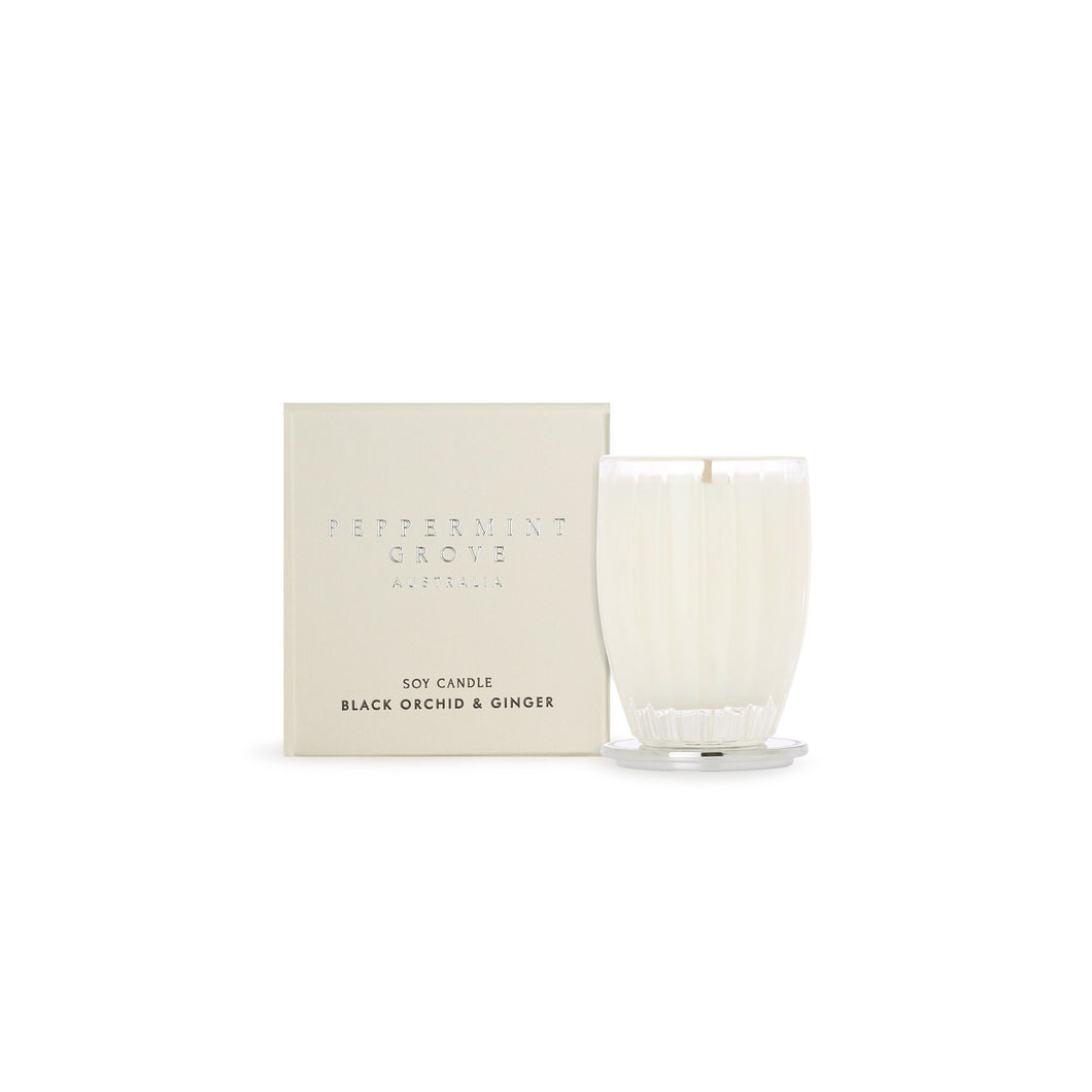 Peppermint Grove - Black Orchid & Ginger - 60g Candle