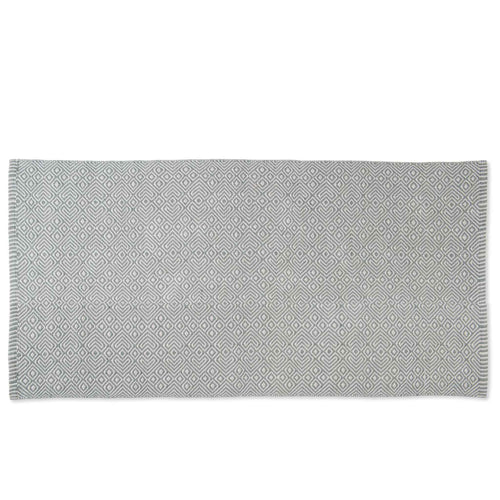Provence Dove Grey Runner Recycled Bottle Rug