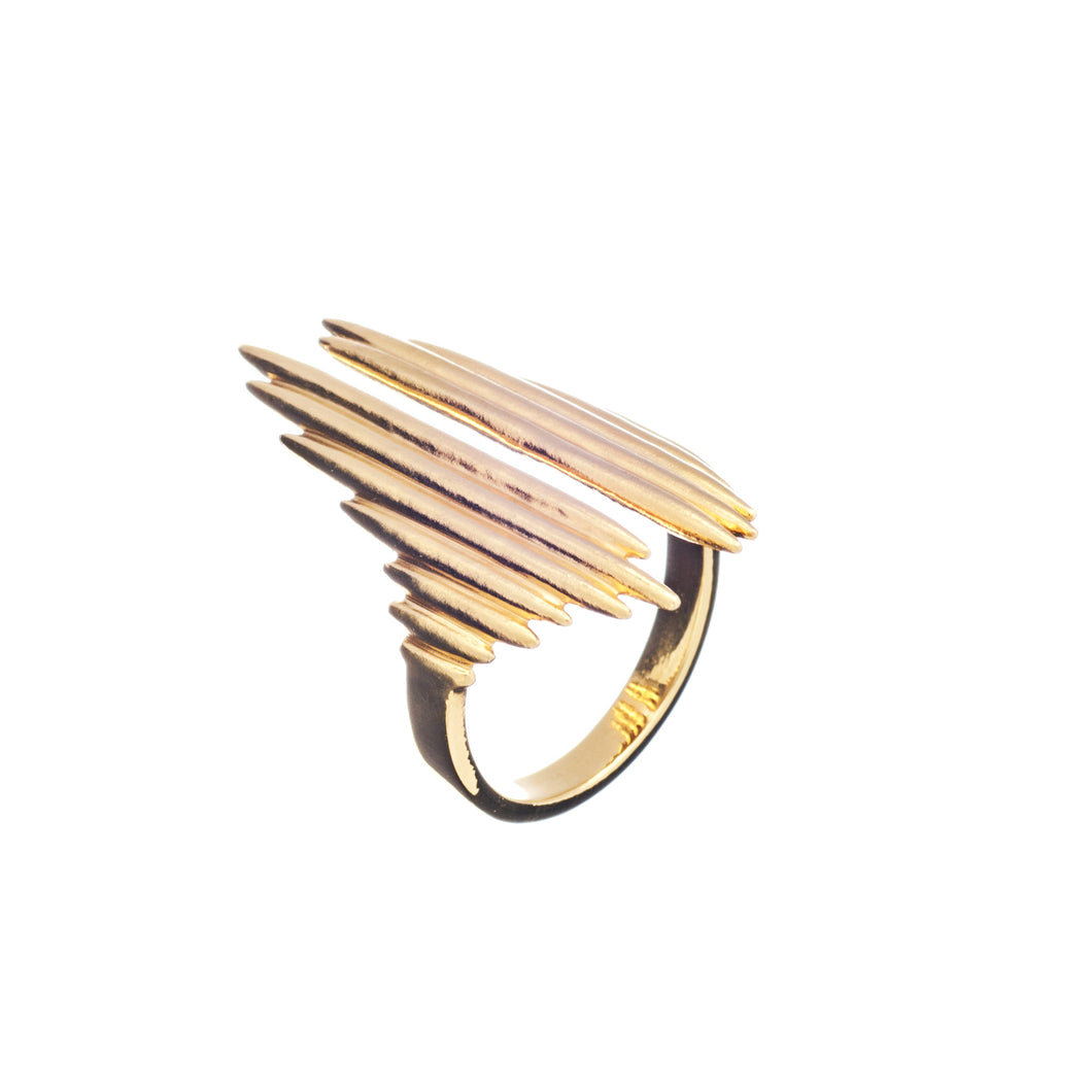 Rachel Jackson - Electric Goddess Ring - Gold
