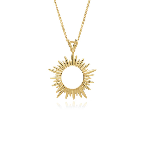 Rachel Jackson - Medium Sunrays Necklace - Gold