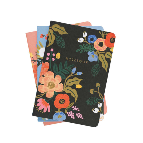 Rifle Paper Co - Lively Floral Stitched Notebooks