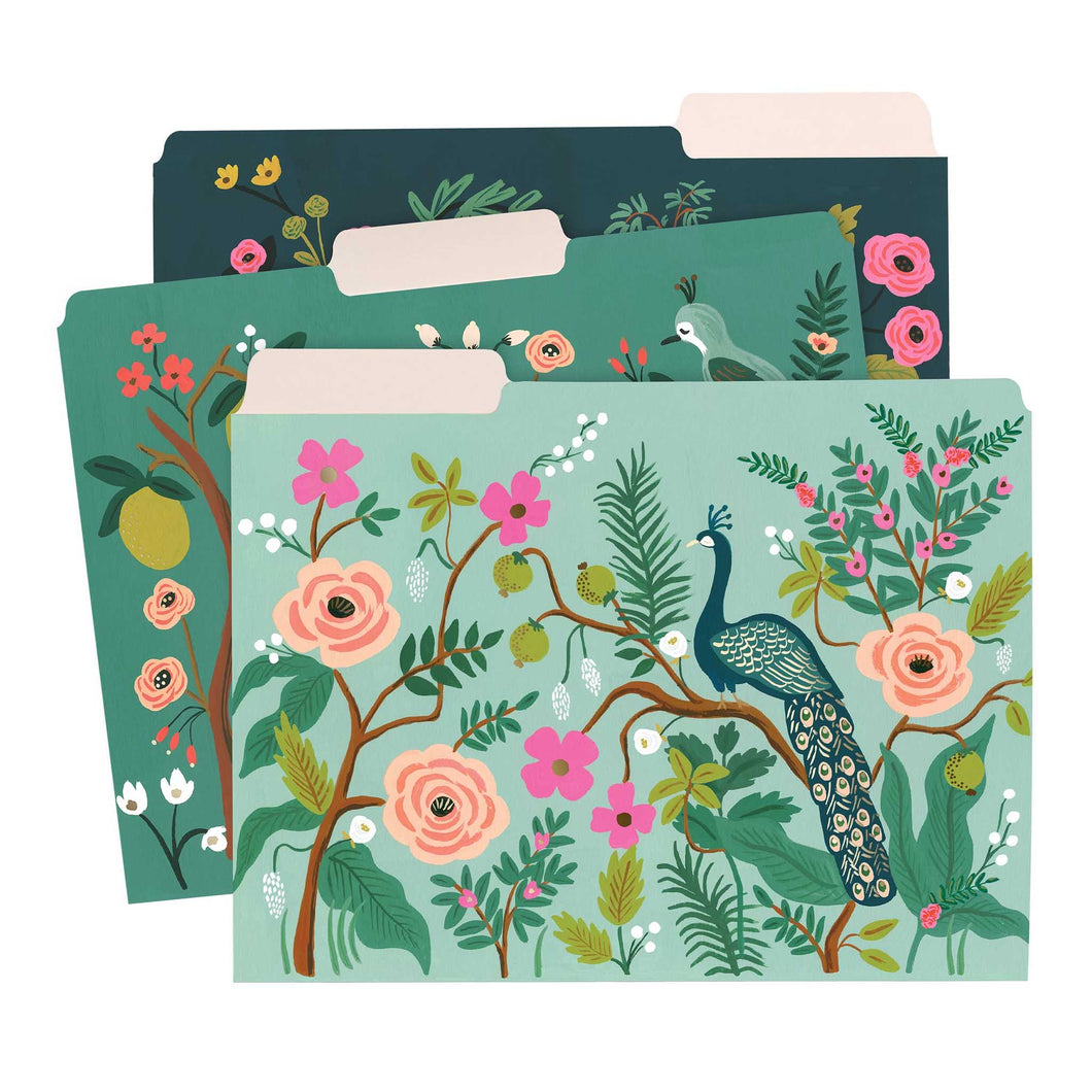 Rifle Paper Co - Shanghai Garden File Folder Set