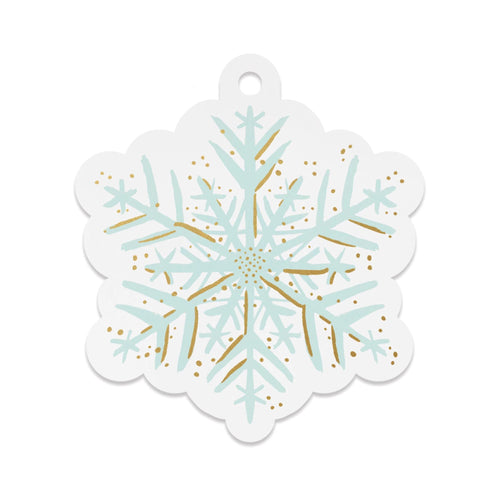 Rifle Paper Co - Snowflake Die-Cut Gift Tags