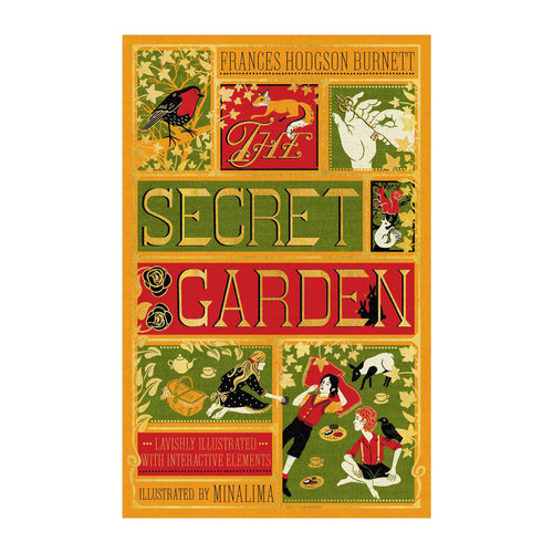Bookspeed - Secret Garden - MinaLima interactive book