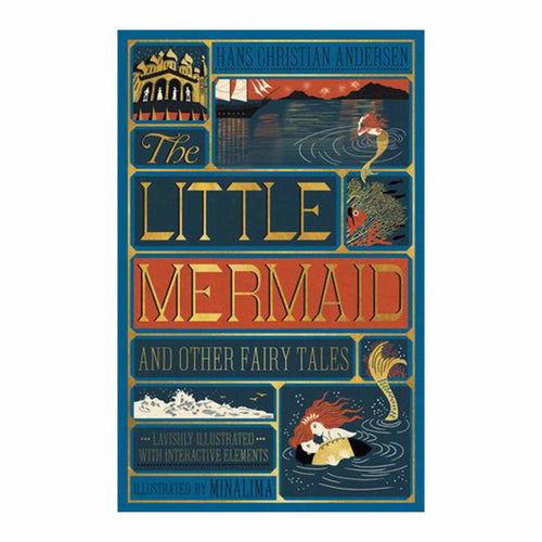 Bookspeed - The Little Mermaid and Other Fairy Tales - MinaLima interactive book
