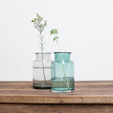 Toska Small Vase - Smoke Grey Teal