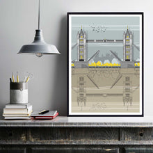 Tower Bridge Print framed