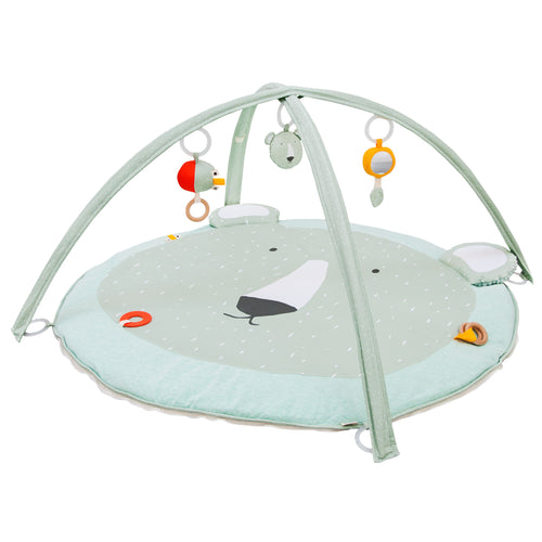 Trixie - Mr Polar Bear - Activity play mat with arches