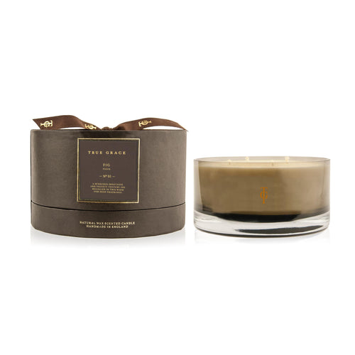True Grace - Manor 4 Wick Bowl Scented Candle - Fig
