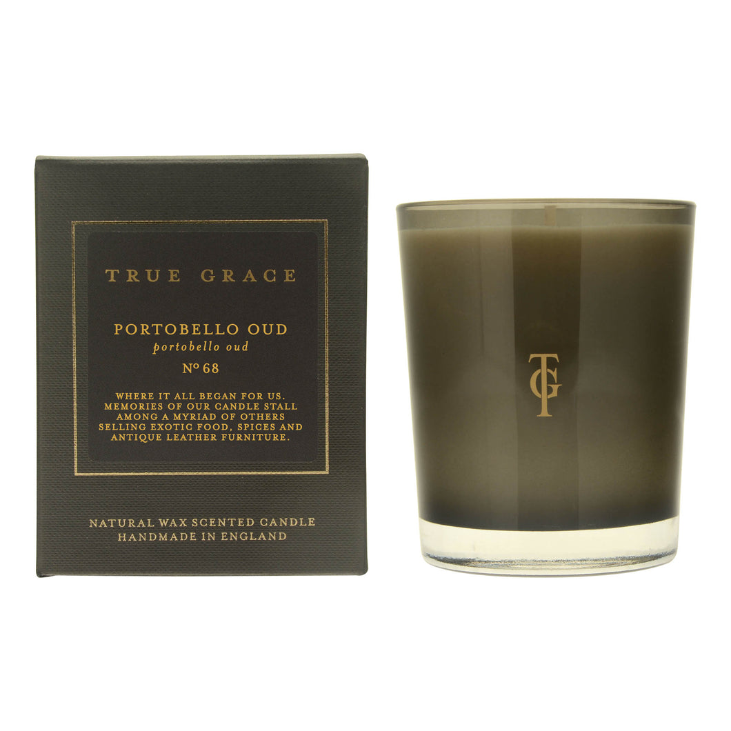 True Grace - Manor Classic Scented Candle - Portobello Oud