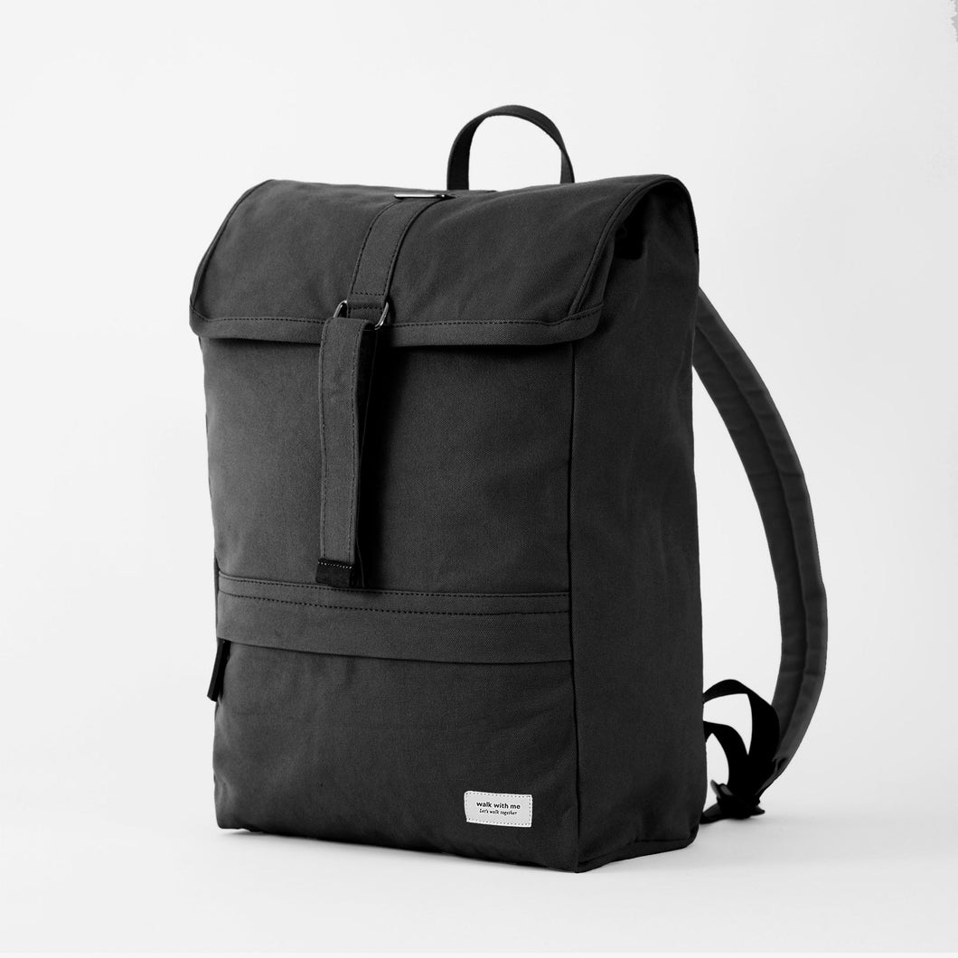 Walk with me Barcelona backpack black main