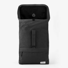 Walk with me Barcelona backpack black open