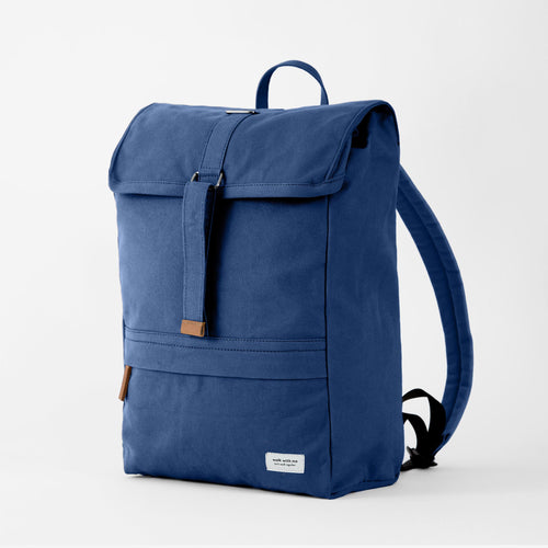 Walk with me Barcelona backpack navy main
