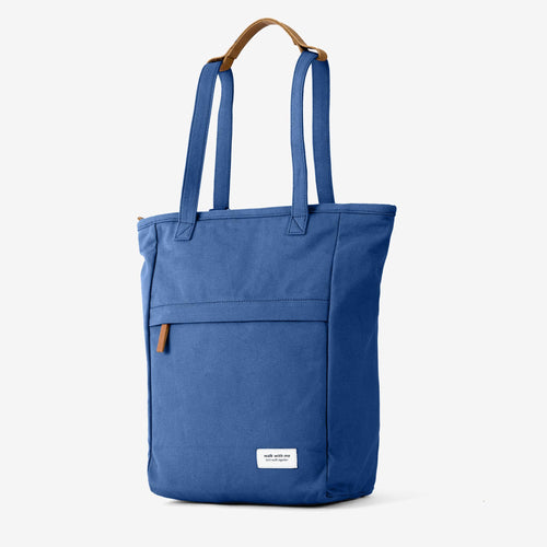 Walk with me London tote backpack navy