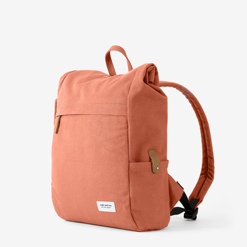 Walk with me Madrid backpack russet main