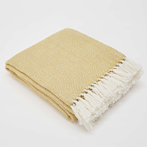Weaver Green - Diamond Blanket - Gooseberry