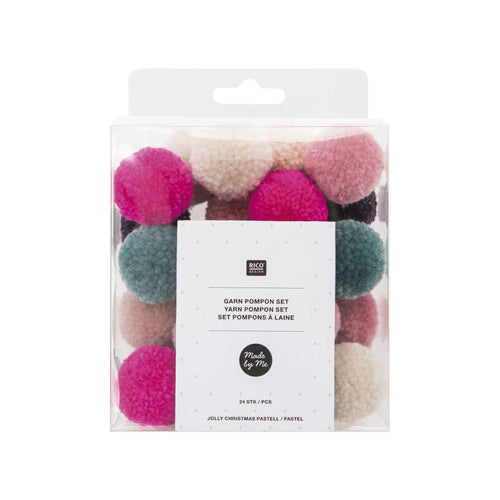Rico - Yarn Pompon Classic Jolly Christmas Colours