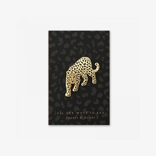 All The Ways To Say - Leopard Enamel Pin