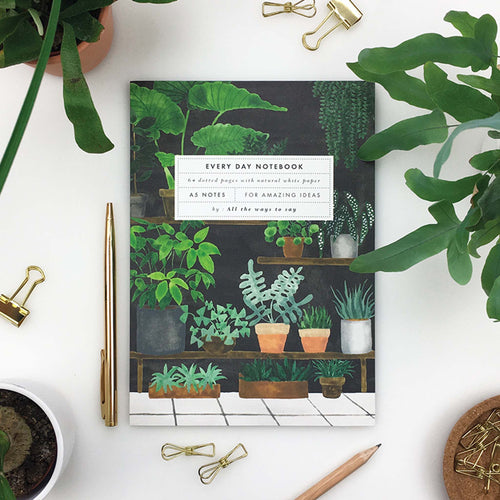 All The Ways To Say - Plant Shop Notebook